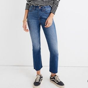 NWT Madewell Cali Demi-boot Kenner wash jeans